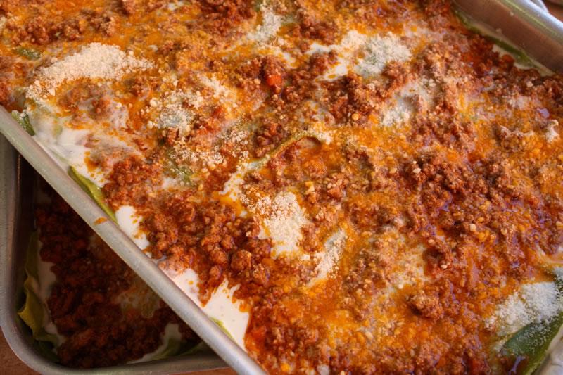 preparazione-lasagne-al-forno