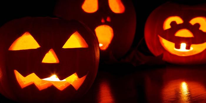 zucche halloween intagliate