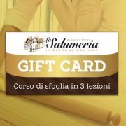 corso sfoglia 3 lezioni gift card