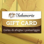 corso sfoglia turisti gift card